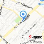 Веста на карте Астрахани
