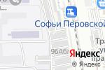 Схема проезда до компании Кутум в Астрахани