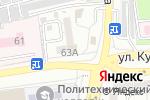 Схема проезда до компании Платежный терминал, Газпромбанк в Астрахани