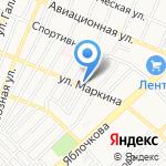 Ателье по пошиву и ремонту одежды на карте Астрахани
