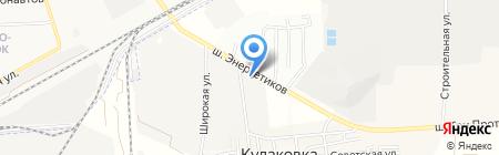 Многофункциональный центр прикладных квалификаций транспортной отрасли на карте Астраханской области