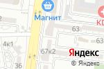 Схема проезда до компании IceBeer`g в Астрахани