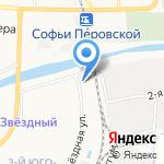 Дакар на карте Астрахани