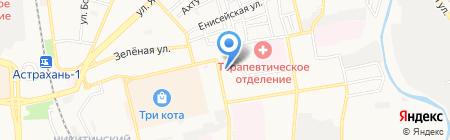 Приборсервис-Юг на карте Астрахани