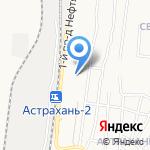 Средняя общеобразовательная школа №13 с дошкольным отделением на карте Астрахани