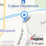 Медуза на карте Астрахани