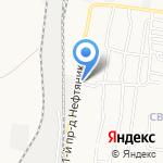 Магистраль 2008Н на карте Астрахани