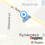 Альфа-Ц на карте Астрахани