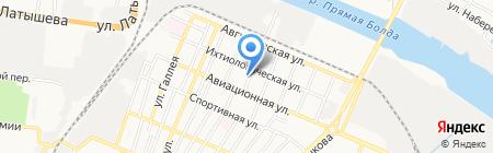 НВН-мастер на карте Астрахани