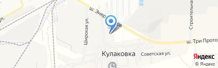 Альфа-Ц на карте Астраханской области