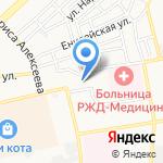 Детский сад №131 на карте Астрахани