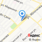 Эвита на карте Астрахани