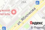 Схема проезда до компании Эвита в Астрахани
