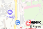 Схема проезда до компании Люмар в Астрахани
