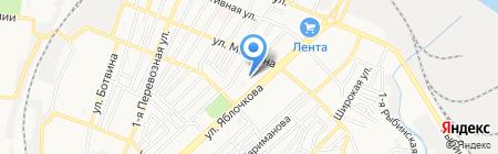 Управление реализации энергии по Астраханской области на карте Астрахани