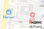 Схема проезда до компании Ладога в Астрахани