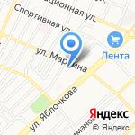 Ксения на карте Астрахани