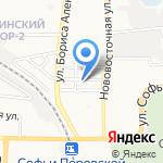 ВАТ на карте Астрахани