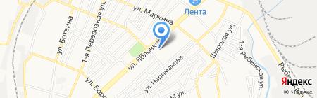 Детский дом-школа им. С.И. Здоровцева на карте Астрахани