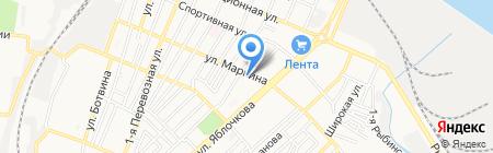 АльТаир на карте Астрахани