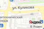 Схема проезда до компании МС Мебель в Астрахани