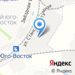 Курс на карте Астрахани