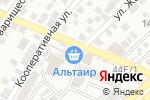 Схема проезда до компании Киоск овощей и фруктов в Астрахани
