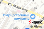 Схема проезда до компании Киоск по продаже овощей и фруктов в Астрахани