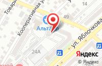 Схема проезда до компании Дача+ в Астрахани