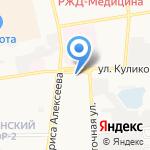 Луиза-К на карте Астрахани