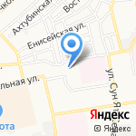 Начальная школа-детский сад №13 на карте Астрахани