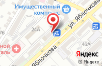 Схема проезда до компании Маляр в Астрахани