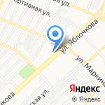 Мой компьютер на карте Астрахани
