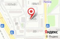Схема проезда до компании Кофекс в Астрахани