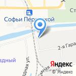 Банный Хутор на карте Астрахани