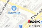 Схема проезда до компании Серебряный сундучок в Астрахани