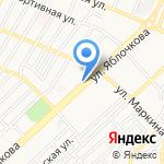 Каспийский Капитал на карте Астрахани