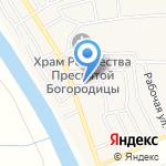 Эльвира на карте Астрахани