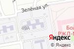 Схема проезда до компании Начальная школа-детский сад №13 в Астрахани