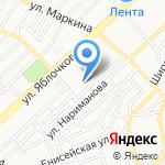 Школа-интернат им. С.И. Здоровцева на карте Астрахани