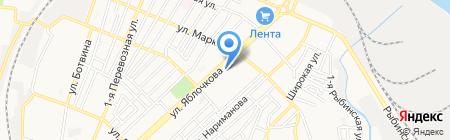 Детский сад №69 на карте Астрахани