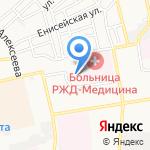 Чебурашка на карте Астрахани