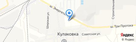 АГЗС Газпром на карте Астраханской области
