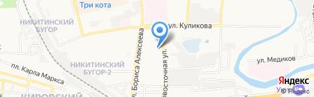 Фотоателье на карте Астрахани