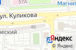 Схема проезда до компании Италмас в Астрахани