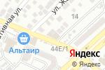 Схема проезда до компании Обувная мастерская №1 в Астрахани