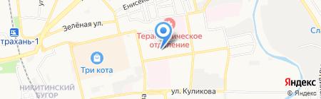 Лидер на карте Астрахани