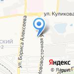 Прогимназия №1 на карте Астрахани