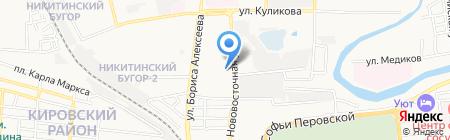 РИВА Rich на карте Астрахани