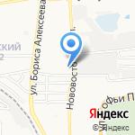 Атом на карте Астрахани